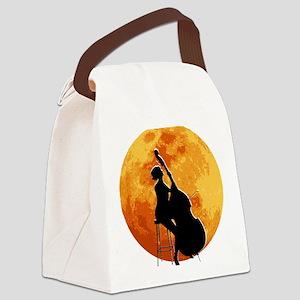 Moon-02-a Canvas Lunch Bag