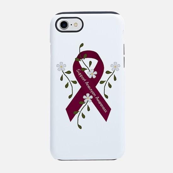 Aneurysm Awareness Ribbon iPhone 7 Tough Case