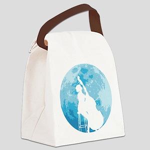 Moon-03-a Canvas Lunch Bag