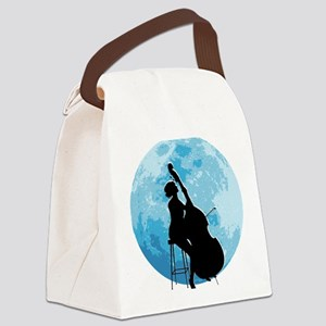 Moon-04-a Canvas Lunch Bag