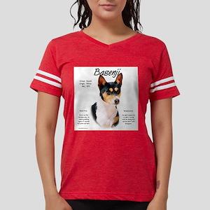 Basenji (tricolor) Womens Football Shirt