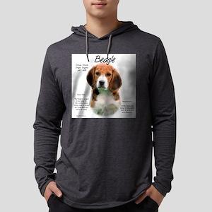 Beagle Mens Hooded Shirt