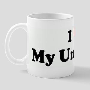 I Love My Uncle Joe Mug