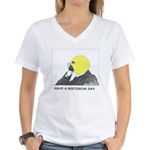 Women's Nietzsche V-Neck T-Shirt