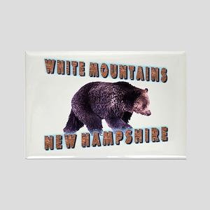 White Mountains , New Hampshi Rectangle Magnet
