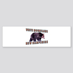 White Mountains , New Hampshi Bumper Sticker