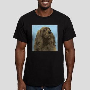 Sussex Spaniel Men's Fitted T-Shirt (dark)