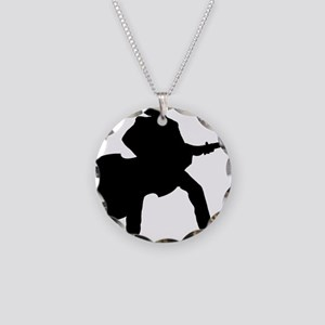 Player-11-a Necklace Circle Charm