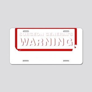 Surgeon-General-02-b Aluminum License Plate
