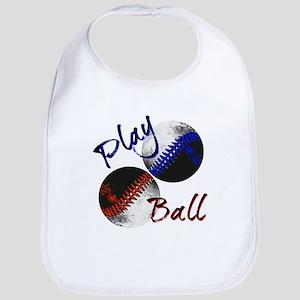Play Ball Baby Bib