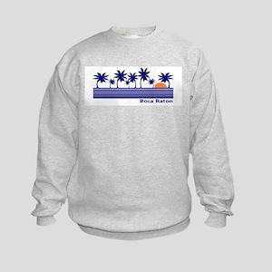 Boca Raton, Florida Kids Sweatshirt