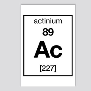 Actinium Postcards (Package of 8)