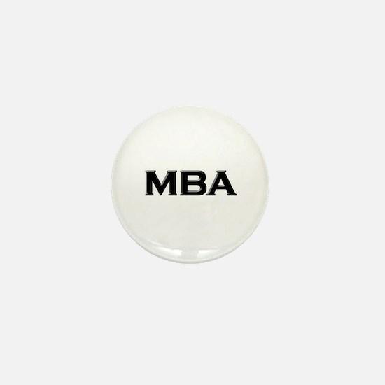 MBA / M.B.A. Mini Button