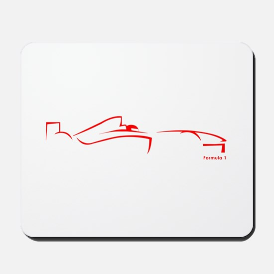 Formula 1 Red Mousepad