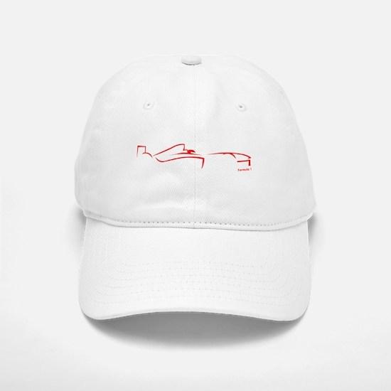 Formula 1 Red Baseball Baseball Cap