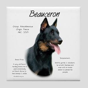 Beauceron Tile Coaster