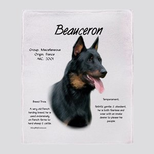 Beauceron Throw Blanket