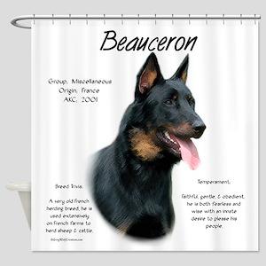 Beauceron Shower Curtain