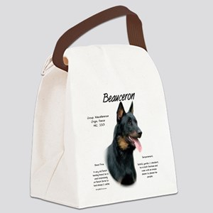 Beauceron Canvas Lunch Bag