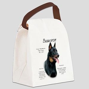 Beauceron Canvas Lunch Bag