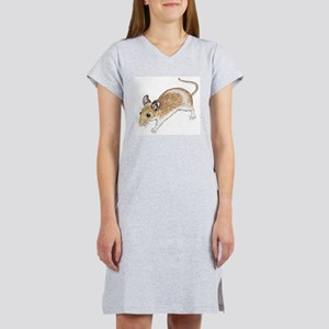 white mouse Women's Nightshirt