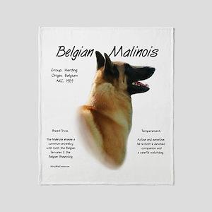 Belgian Malinois Throw Blanket