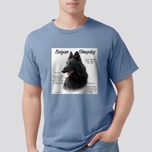 Belgian Sheepdog Mens Comfort Colors Shirt
