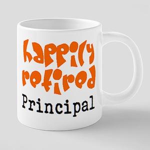 happily retired principal2 20 oz Ceramic Mega Mug