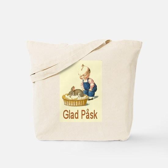 Glad Påsk 4 Tote Bag