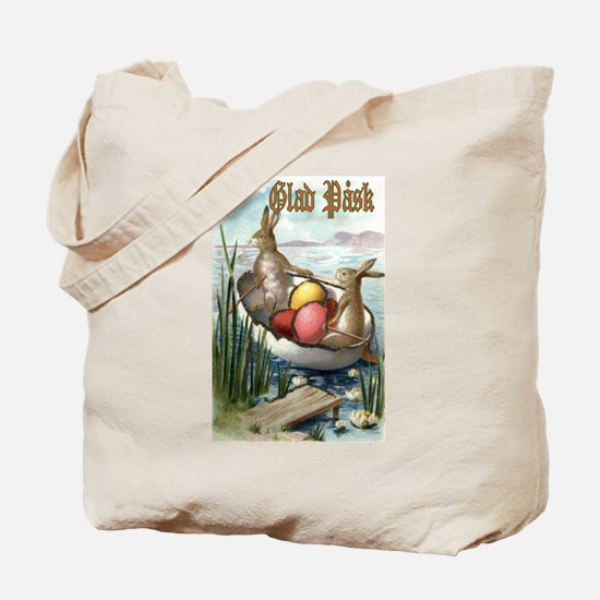 Glad Påsk 6 Tote Bag