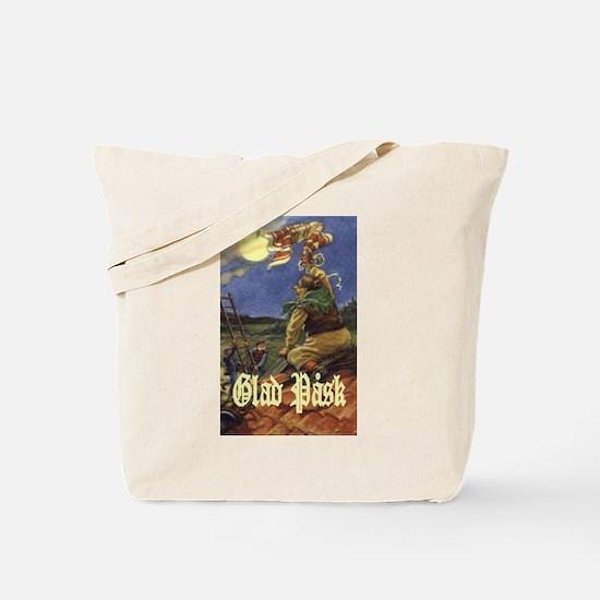 Glad Påsk 8 Tote Bag