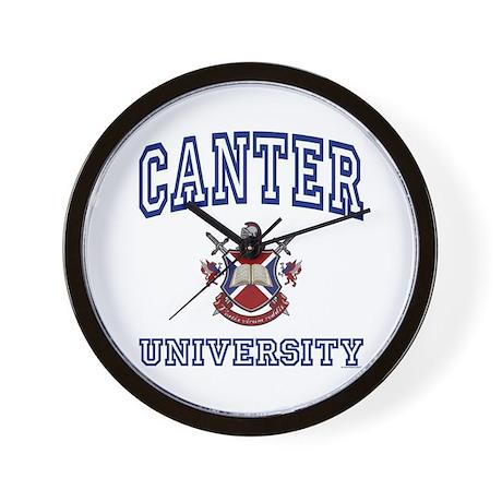 CANTER University Wall Clock