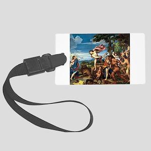 Bacchus and Ariadne - Titian - c1520 Luggage Tag