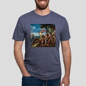 Bacchus and Ariadne - Titian - c1520 T-Shirt