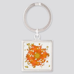 Rapture Leaf Breakout Square Keychain