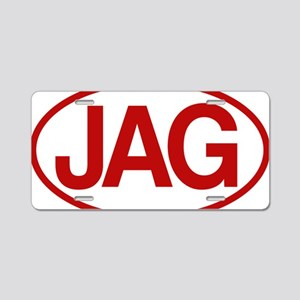 Jag2 rd for yellow Aluminum License Plate
