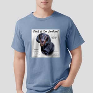 Black and Tan Coonhound Mens Comfort Colors Shirt
