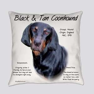 Black and Tan Coonhound Everyday Pillow