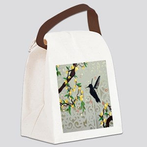Flitting through the Vines Canvas Lunch Bag