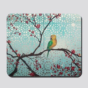 Sun Amongst the Blossoms Mousepad
