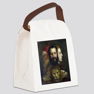 Allegory of Prudence - Titian - c1566 Canvas Lunch