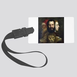 Allegory of Prudence - Titian - c1566 Luggage Tag