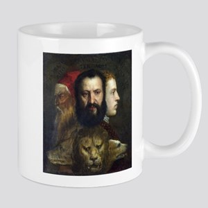 Allegory of Prudence - Titian - c1566 Mugs