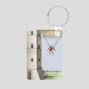 Parachute, 16th century Aluminum Photo Keychain