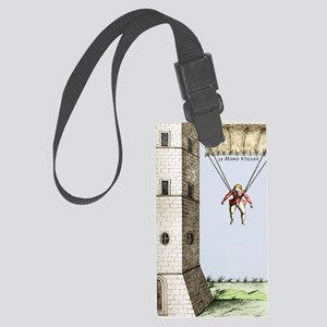 Parachute, 16th century Large Luggage Tag