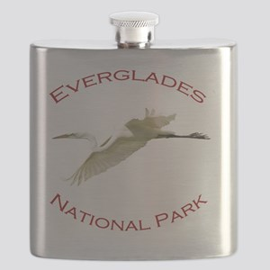 Everglades National Park...Great White Egret Flask