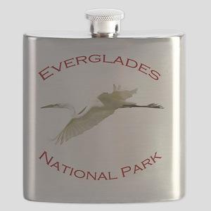 Everglades National Park...Great White Egret Flask