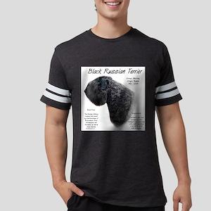 Black Russian Terrier Mens Football Shirt