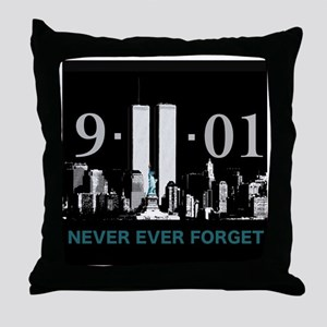 Never Ever Forget Throw Pillow