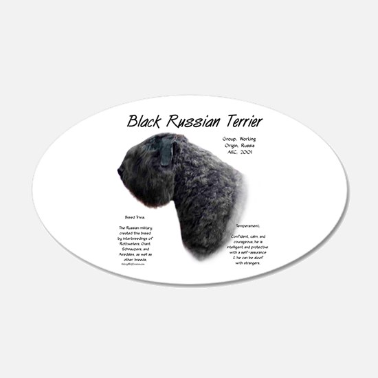 Black Russian Terrier Wall Decal